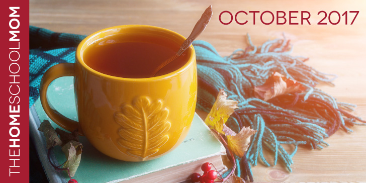 TheHomeSchoolMom October Newsletter