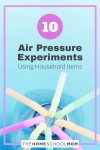10 Air Pressure Experiments Using Household Items
