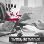 "The ""Show Me"" Letter"