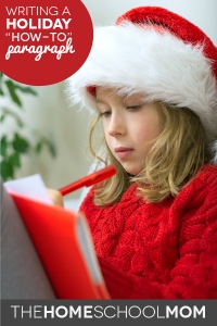"Writing a Holiday ""How-to"" Paragraph"