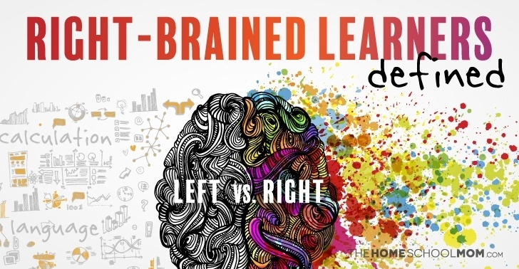 Right brain learners defined