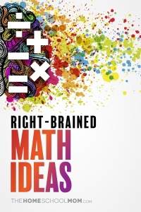 Right-brained Math Ideas
