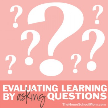 TheHomeSchoolMom - Homeschool Testing: Evaluating Learning By Asking Questions