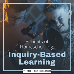 Benefits of Homeschooling: Inquiry-Based Learning