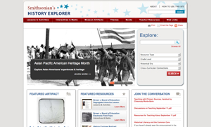 TheHomeSchoolMom Resource of the Week: Smithsonian American History Museum Explorer