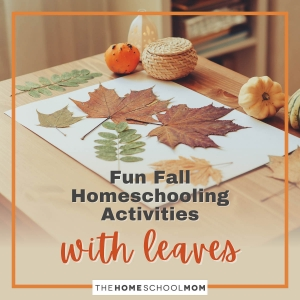 Fun Fall Homeschooling Activities With Leaves