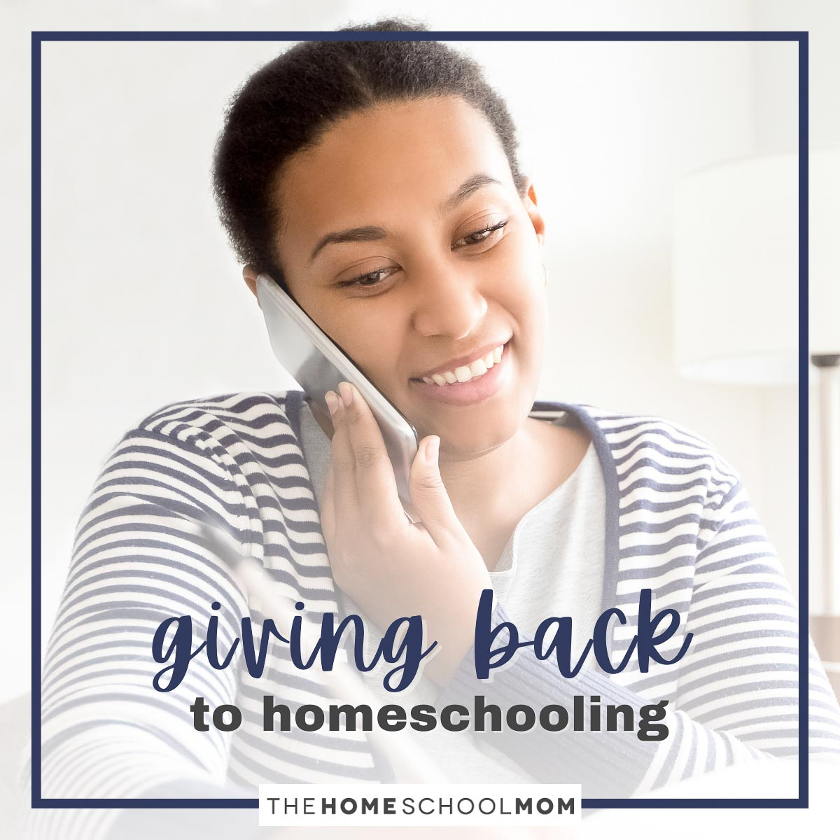 giving back to homeschooling