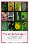 The Alphabet Walk: Learning ABCs with Rocks and Trees