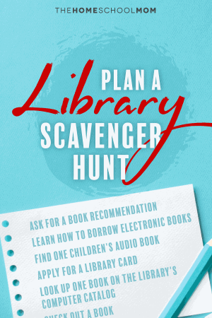 Plan a Library Scavenger Hunt