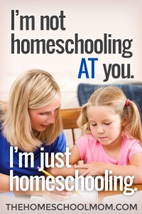 I'm Not Homeschooling At You