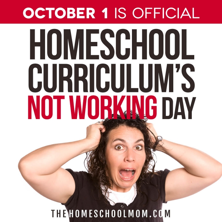 October 1: Curriculum's Not Working Day