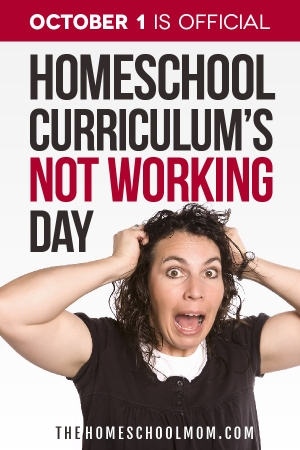TheHomeSchoolMom Blog: October 1 - Official Homeschool Curriculum's Note Working Day
