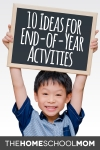 End of Year Homeschool Activities