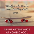 TheHomeSchoolMom Blog: The truth about homeschool activities for teens