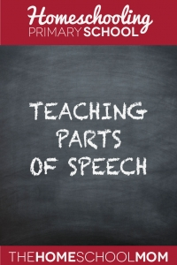 Fun Ways To Teach Parts of Speech