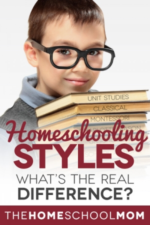 Homeschooling styles explained