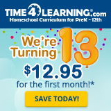 Time4Learning Anniversary Sale