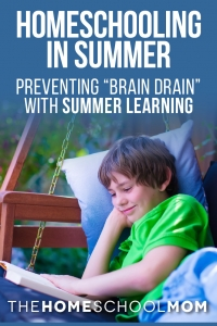Homeschool Summer Learning