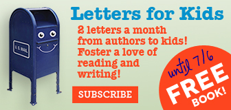 Letters from authors to kids!