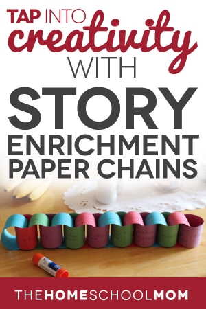 Creative Writing Using Story Enrichment Paper Chains