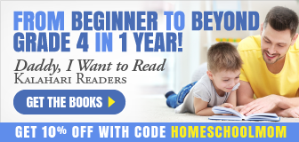 Learn to Read: 10% off with code homeschoolmom