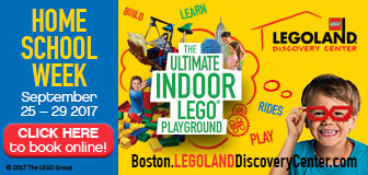 LEGOLAND Boston Homeschool Week: September 25-29, 2017