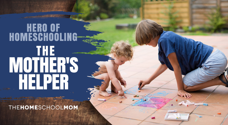 TheHomeSchoolMom Blog: The Mother's Helper - Hero of Homeschooling