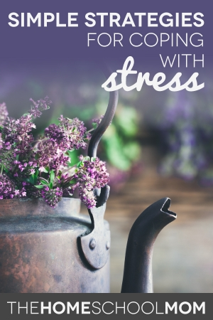 Coping with Stress: Simple Strategies for Homeschool Moms