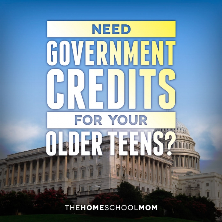 Instead of Curriculum: Earn High School Government Credits Differently