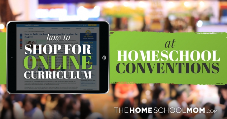 How to Shop for Online Curriculum at Homeschool Conventions