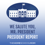 TheHomeSchoolMom: We Salute You, Mr. President Notebooking Unit