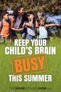 Keep Your Child's Brain Busy This Summer