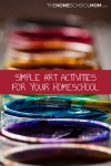 Homeschool Art Activities