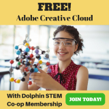 DolphinSTEM Academy: Free Adobe Creative Cloud with Co-op Membership