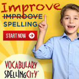 Improve Spelling with Coaculary Spelling City