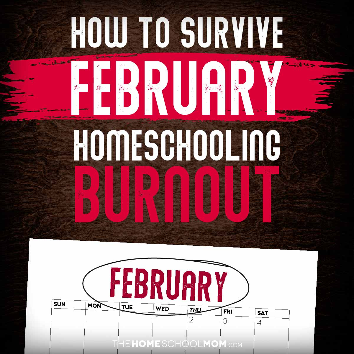 How to Survive February Homeschooling Burnout