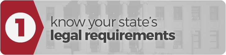 Get Started Homeschooling: Step 1 - Know your state's legal requirements
