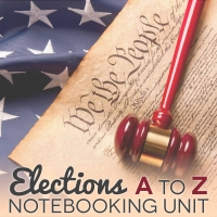 Elections Unit Study / Notebooking Unit (FREE)