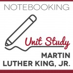 Martin Luther King, Jr. Unit Study