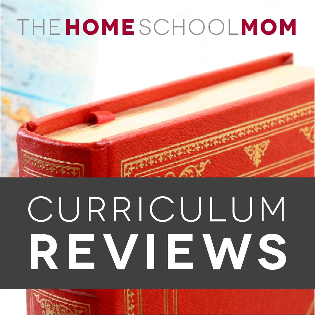 book and globe with text curriculum reviews