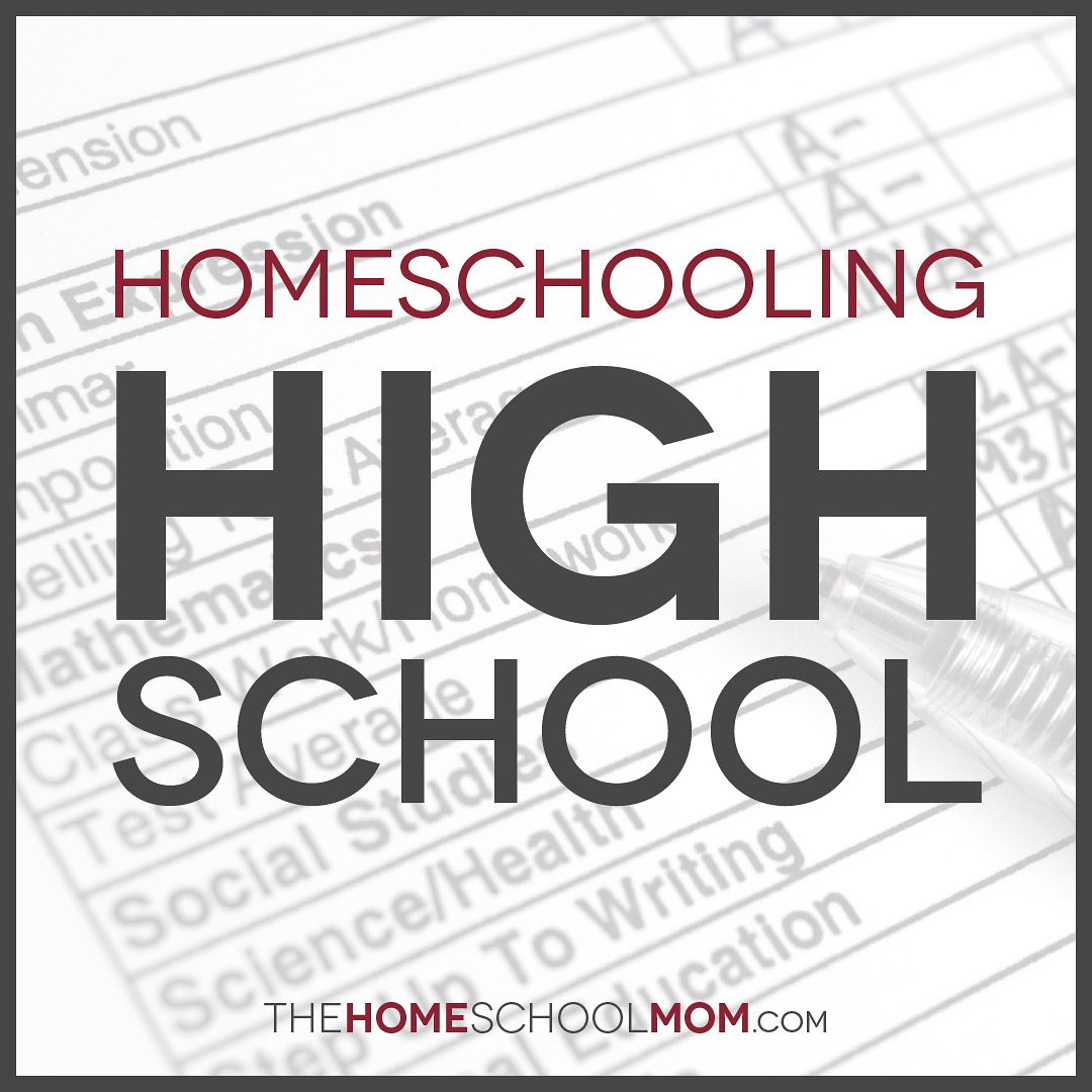 grade report with text Homeschooling High School
