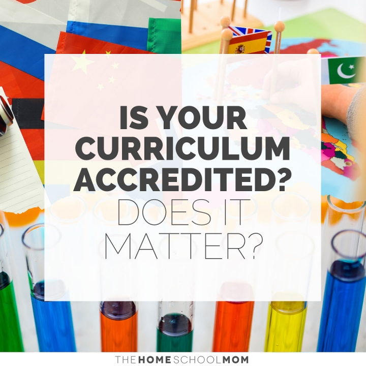 Is Your Curriculum Accredited? Does It Matter?