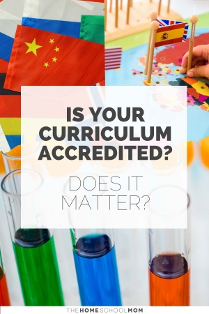 school supplies and equipment with text is this curriculum accredited? Does it matter? - TheHomeSchoolmom