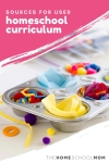 school supplies with text sources for used homeschool curriculum