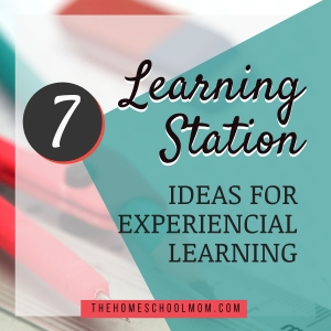 7 creative learning station ideas