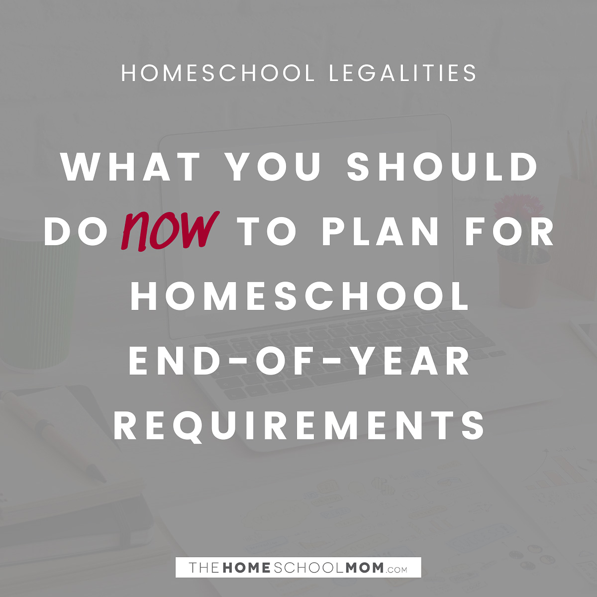 Homeschool Legalities: What you should do now to plan for homeschool end of year requirements