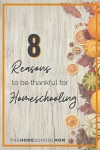 8 Reasons to be Thankful for Homeschooling - TheHomeSchoolMom