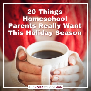 20 Things Homeschool Parents Really Want this Holiday Season