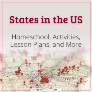 States in the US: Homeschool, Activities, Lesson Plans, and More