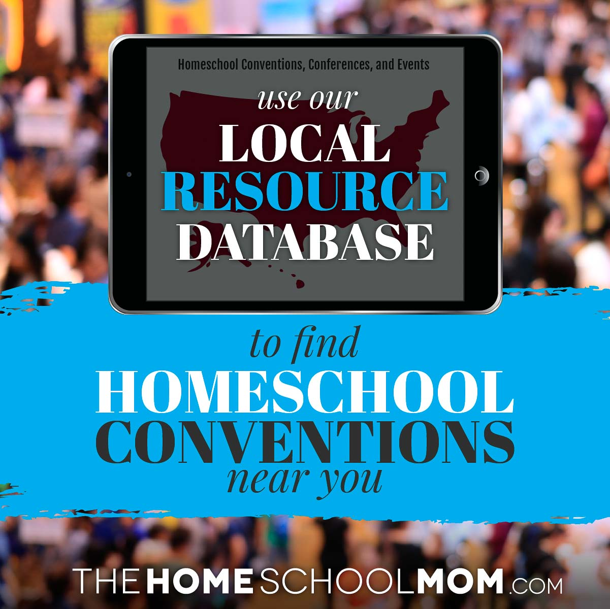 Use our local resource database to find homeschool conventions near you